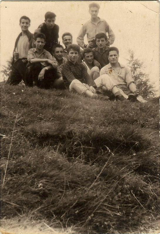 Gilberto and friends near Biella