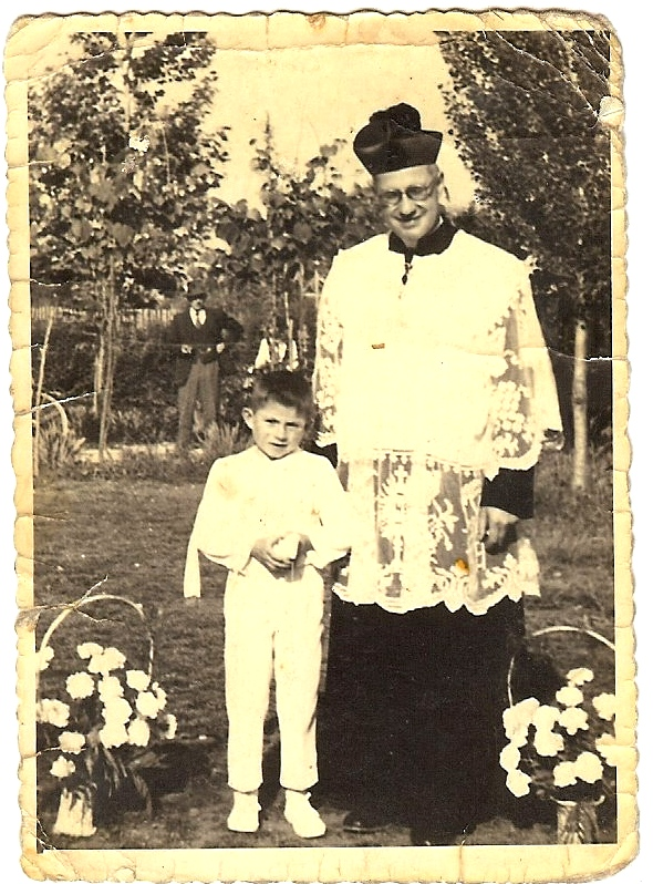 Gilberto's first communion