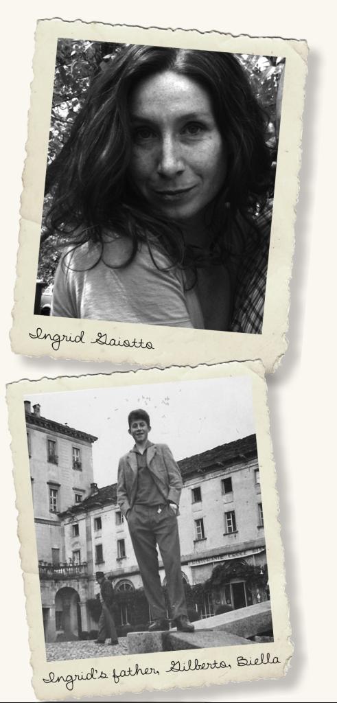 Ingrid Gaiotto; Ingrid's father, Gilberto, Biella